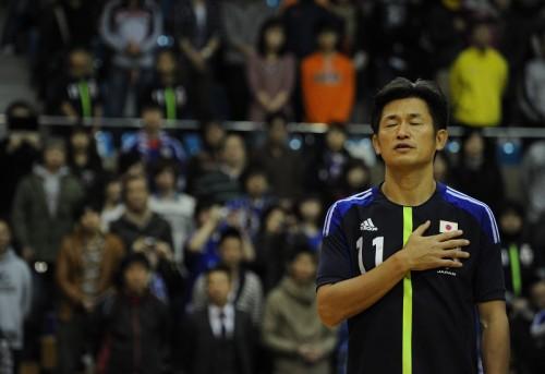 カズがフットサル日本代表引退を明言「僕の役目は終わったと思っている」