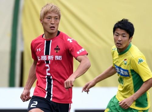 金沢DF阿渡、顔面負傷により全治1カ月…今季リーグ戦24試合出場