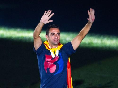 バルサの活躍を称賛するシャビ「レアルにフットボールをレッスンした」