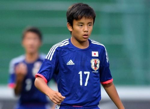 フランスを撃破したU15日本代表…久保建英のゴールが別格だった