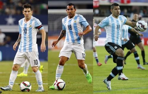 メッシ&アグエロ欠場のアルゼンチン…ブラジル戦前にテベスも離脱へ