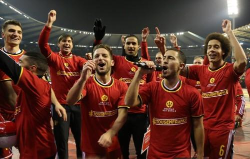 ベルギーが史上8カ国目のFIFAランク1位…日本は50位に浮上
