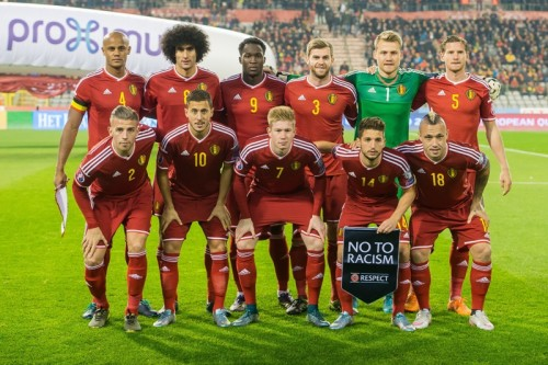 FIFAランクトップのベルギー代表発表…強豪イタリア&スペインと激突