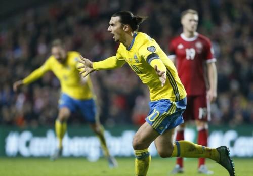 エース・イブラが2発…スウェーデンが5大会連続のユーロ出場決める
