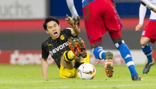 香川は前半で交代…ドルトは酒井高フル出場のHSVに敗れ今季2敗目