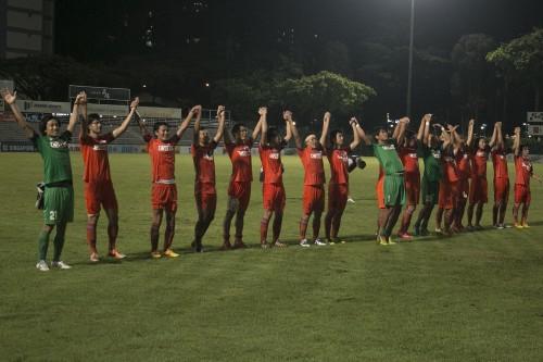アルビレックス新潟シンガポール、リーグ最終節完封勝利