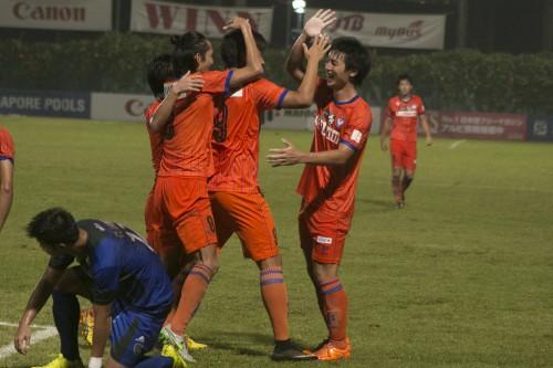 アルビレックス新潟シンガポールがカップ戦で4年ぶりに決勝進出