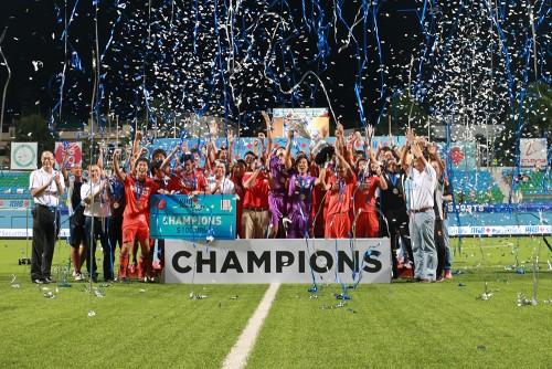 アルビレックス新潟シンガポールがカップ2冠達成で2015シーズンに幕