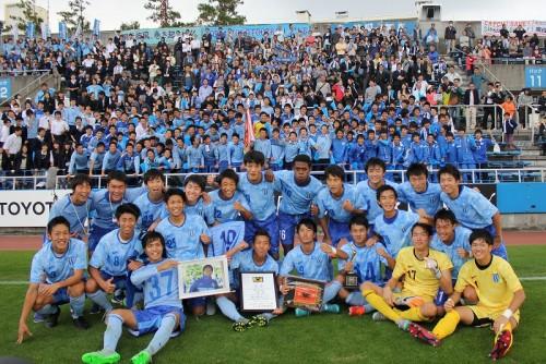 「勝負は試合前に決まっている」…OBの中村俊輔から激励受けた桐光学園が選手権へ