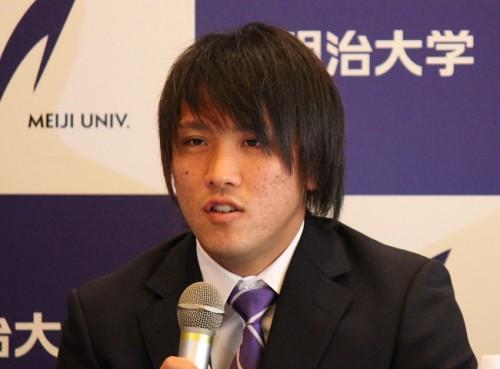 仙台加入内定の明治大MF差波優人「椎名さん、岳さんのプレーを近くで見れた僕は日本で一番幸せだった」