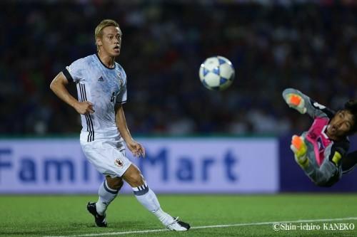 W杯予選5試合連続ゴールの本田圭佑、新記録達成に「意外ですね」