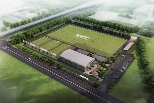本田の自社ピッチ、名称は『ZOZOPARK HONDA FOOTBALL AREA』に決定