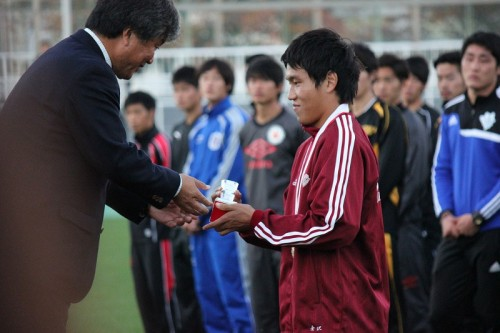 MVPに輝いた早稲田大の金澤拓真「うれしいの一言です」