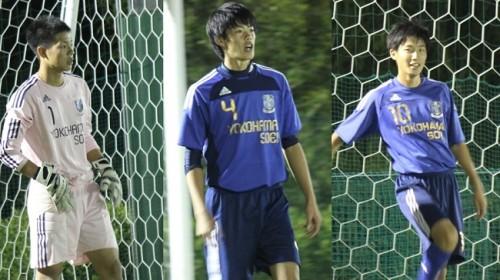 【高校サッカー/注目選手】横浜創英高校が目指すポゼッションサッカーの中軸を担う宮島大知、市原亮太、池内龍哉