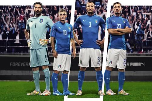 プーマ、イタリア代表の新ホームユニフォームを発表