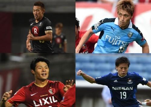 渡邉千真が最多20得点を記録、赤﨑秀平は1年時に得点王を獲得…関東大学リーグ過去10回大会得点ランクトップ選手