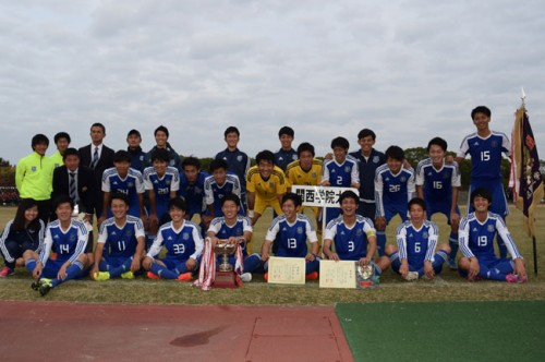 関西学院大、リーグ戦最終節で2位阪南大に競り勝つ…3冠達成し、満を持してインカレへ