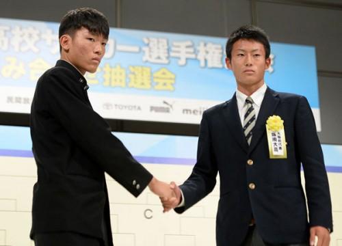 大阪府予選を勝ち抜いた阪南大高の主将岸元海「初戦に勝って勢いをつけたい」