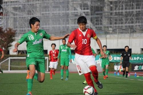 名古屋U18のFW森晃太、来季ヴァンフォーレ甲府に加入内定