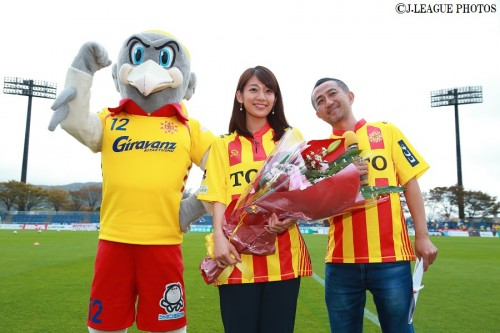Jリーグ女子マネの佐藤美希、J1・J2全40クラブのスタジアム訪問を達成「Jリーグは魅力的」