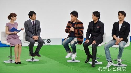 ホリエモン、夏野剛氏らが元日本代表の都並氏や福田氏などとJリーグの未来を徹底討論