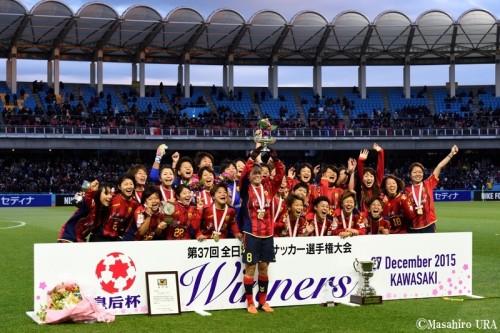 澤穂希が自らの決勝ゴールで有終の美飾る…神戸、2年ぶり5度目の皇后杯制覇