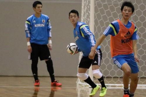 U-18フットサル日本代表が大阪合宿をスタート…初招集でチーム最年少の伊名野慎が存在感をアピール