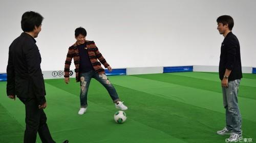 ホリエモンらJアドバイザーがスタジアム論で元日本代表勢と討論