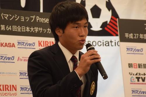 関東リーグ王者の早稲田大主将、DF金澤拓真「優勝してすっきり終わりたい」