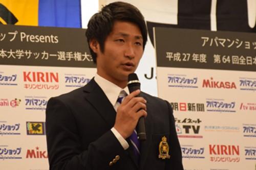 明治大MF和泉竜司「難しい試合でも自分たちの力を信じてやるだけ」