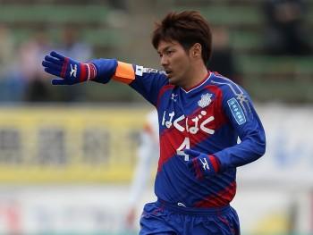 (EDITORIAL USE ONLY) xxx during the J.League match between Ventforet Kofu and Nagoya Grampus at Yamanashi Chuo Bank Stadium on March 14, 2015 in Kofu, Yamanashi, Japan.