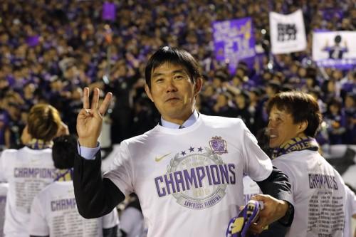 日本人最多3度目の優勝…森保監督「ハードワークで勝ち獲ったみんなの勲章」