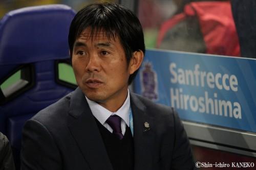 広島らしい粘りの勝利に満足の森保監督「選手の頑張りを称えたい」