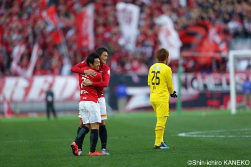 李忠成が3戦連発…浦和、延長戦で柏を破り9年ぶりの天皇杯制覇に王手