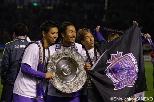 J1制覇でクラブW杯出場へ…広島MF柏好文「世界を紫に染めましょう!」
