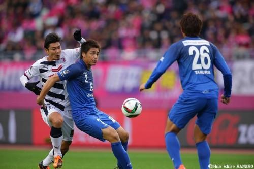 福岡が5年ぶりのJ1復帰…中村北斗の劇的同点弾でC大阪振り切る