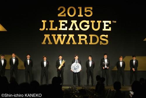 Jアウォーズ2015各部門一覧…広島MF青山が初MVP、ベスト11など3冠