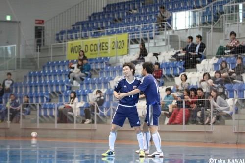 フットサル日本代表、国際親善試合テレビ放送決定