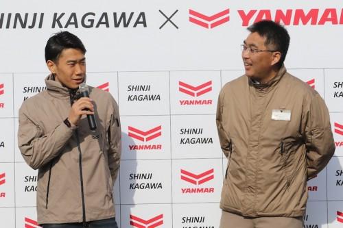 サッカーを通じて復興支援…仙台凱旋の香川真司「夢や希望を与えたい」