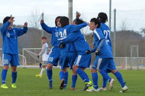 終盤に2ゴールを奪った神奈川大がベスト4進出/インカレ女子準々決勝