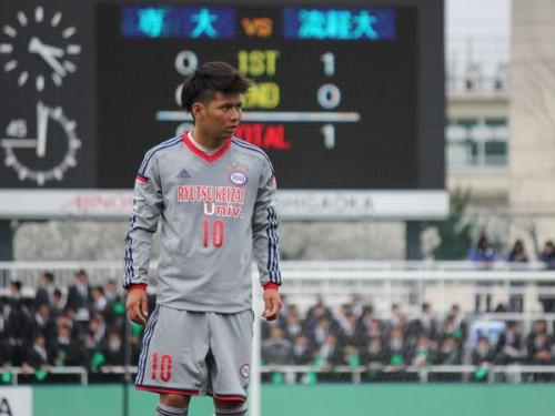 栃木、流経大MF古波津辰希の加入内定を発表「1年でJ2に戻るために、泥臭くプレーする」