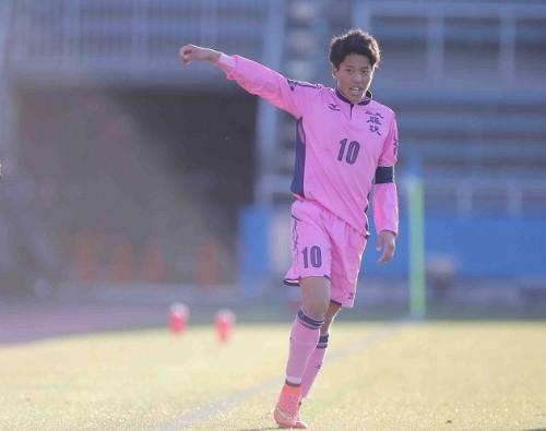 日大藤沢の選手権4強入り原動力となった田場ディエゴ「ベンチのまま引退すると思っていた」