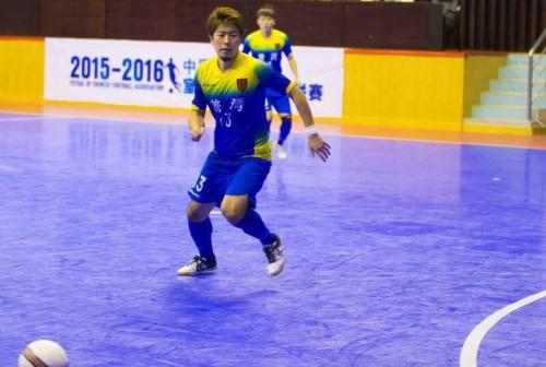 中国フットサルリーグ フットサル日本代表・渡邉は2試合ぶりの出場で14-0と快勝