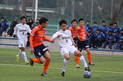 終了間際に岩本が同点弾…西武台が1勝2分けで優勝/十文字サッカーフェスティバル男子