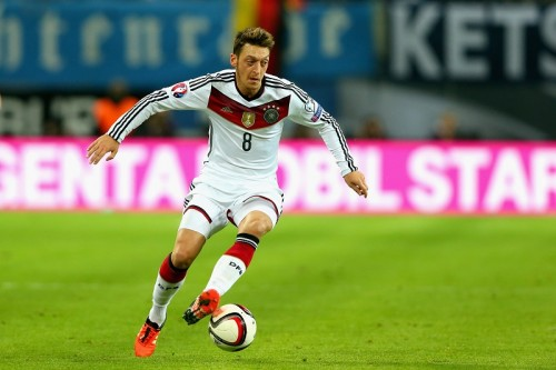 エジル、2015年のドイツ代表年間最優秀選手に選出…4度目の受賞