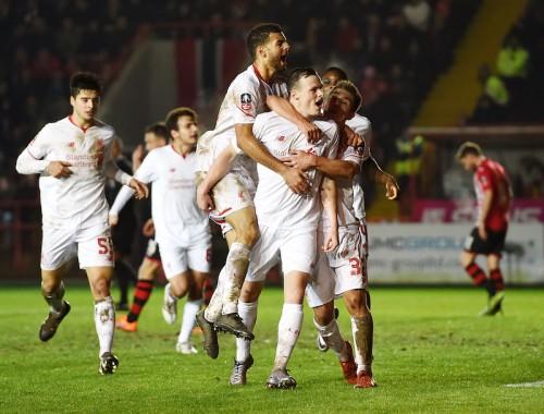 負傷者続出のリヴァプール、若手主体で4部クラブとドロー…FA杯再試合へ