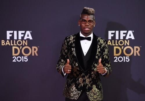 ポグバ、FIFA年間表彰式に大興奮…自身の夢は「バロンドール獲得」