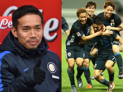 U23代表、五輪出場決定…長友が祝福「感動をありがとう!」