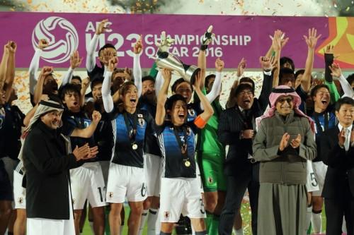U23日本代表、アジアの頂点に立ちリオへ…浅野2発で宿敵韓国に大逆転勝利