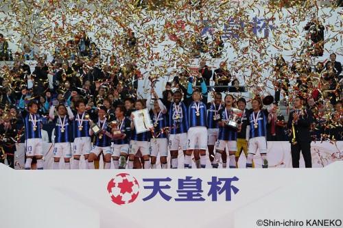 G大阪が2度目の天皇杯2連覇達成…パトリック2発で浦和との元日決戦制す